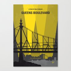 No776 My Queens Boulevard minimal movie poster Canvas Print