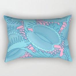 Free hugs (Venus Flytrap on pink) Rectangular Pillow