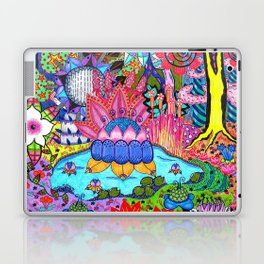Pond Abstract Laptop & iPad Skin