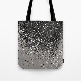Silver Gray Glitter #1 #shiny #decor #art #society6 Tote Bag