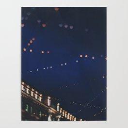christmas lights ...  Poster