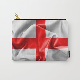 English St Georges Cross Flag Carry-All Pouch