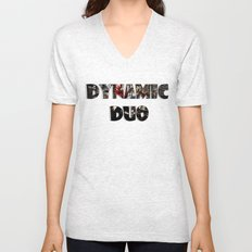 Dynamic Duo Unisex V-Neck