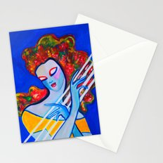Siren's Harp Stationery Cards