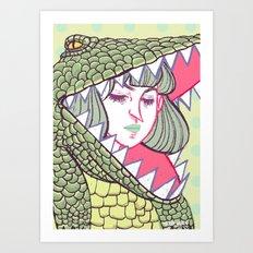 Disguise Art Print