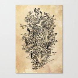 Blooming Flight Canvas Print