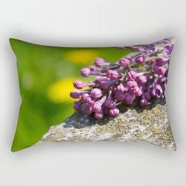 Lilac close up Rectangular Pillow
