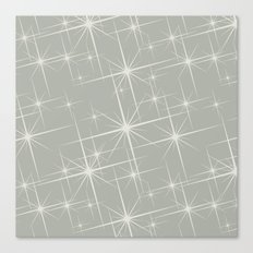 Oyster Bay Glitter Canvas Print