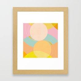 Balance - Shapes and Layers no.39 Framed Art Print