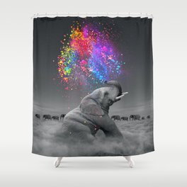 True Colors Within Shower Curtain