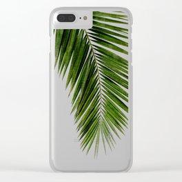 Palm Leaf I Clear iPhone Case