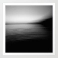 Flow (B&W) Art Print