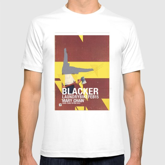 Mary Chain & Blacker band poster T-shirt
