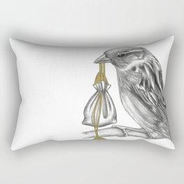 Air Looms the messenger Sparrow Rectangular Pillow
