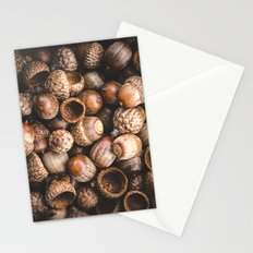 Squirrel Harvest Stationery Cards