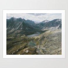 Mackenzie Mountains Art Print