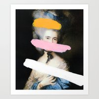 Art Prints featuring Brutalized Gainsborough 2 by Chad Wys