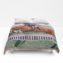 Hunter Over Fences chestnut mare Comforters