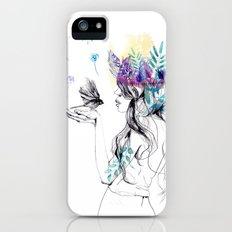 Nature Girl Slim Case iPhone (5, 5s)