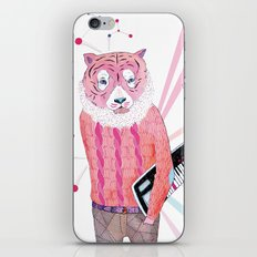 Pink Tiger iPhone & iPod Skin