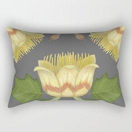 Tulip Tree Rectangular Pillow