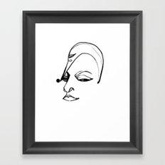 Proud as a Peacock Framed Art Print