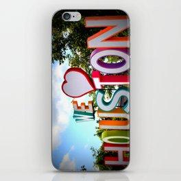 We Heart Houston iPhone Skin