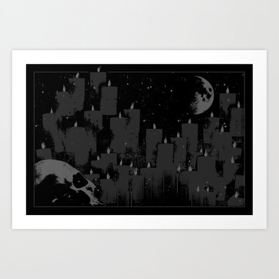 SUMMON Art Print