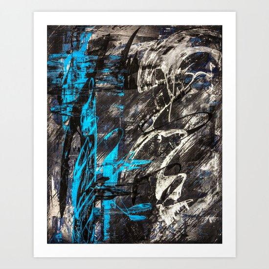 Areus, an abstract Art Print
