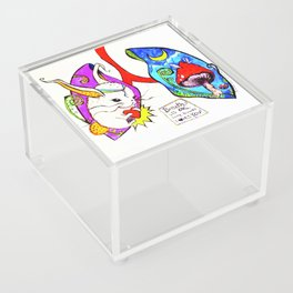 Breathe it's Ok! Some Bunny Loves You! Acrylic Box