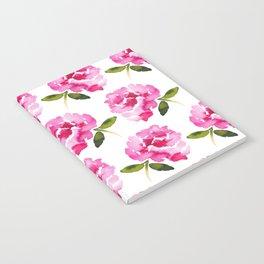 Pink Flower Notebook