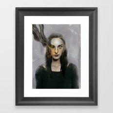 Deadly. Framed Art Print
