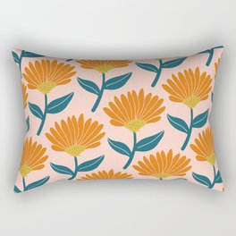 Floral_pattern Rectangular Pillow