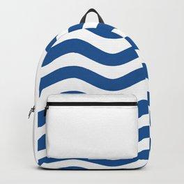 Nautical 02 Seascape Backpack