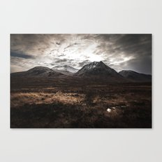 Drive From Loch Ness Canvas Print