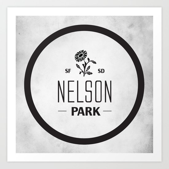 Nelson Park Art Print
