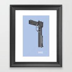 ROBOCOP's Gun Framed Art Print