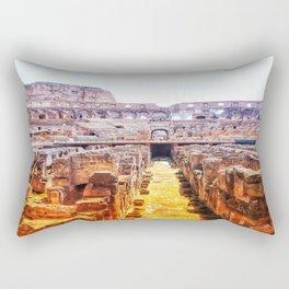 The Lions Den Rectangular Pillow