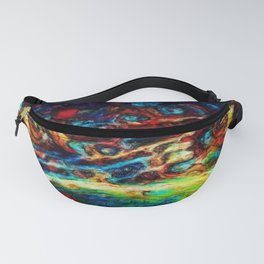 Cosmic Eyes of the Watcher Fanny Pack