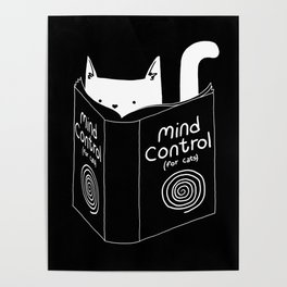 Mind Control 4 Cats Poster