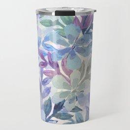 watercolor Botanical garden Travel Mug