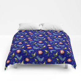 Australian Native Floral Pattern - Bright and Cute Comforters
