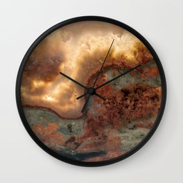 Idaho Gem Stone 39 Wall Clock