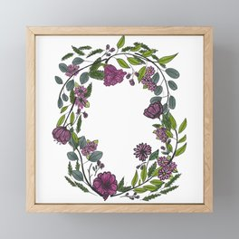 spring is in the air Framed Mini Art Print