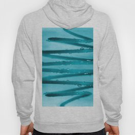 Drops in Spiral Fresh Turquoise Color #decor #society6 #buyart Hoody