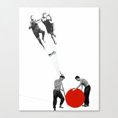 US AND THEM >dedicated to László Moholy-Nagy / 038 Canvas Print