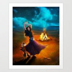 Dance Like A Dervish Art Print