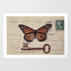 Butterfly no. 1 Art Print