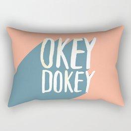 Okey Dokey Rectangular Pillow