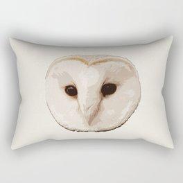 barn owl Head Rectangular Pillow